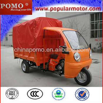 2013 Chinese Hot Cheap Gasoline Motorized Popular Cargo 300CC Three Wheel Motorcycle Dealer