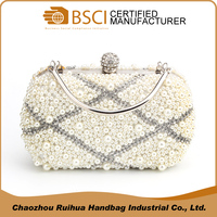 New Arrival Fancy Pearl Beaded Crystal