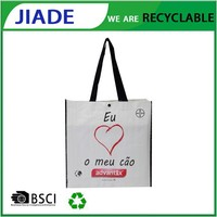 Wholesale china products gusset shopping bag/shopping grocery bag/europe tote shopping bags