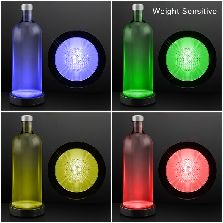 GFLAI Hot Sale Bottle With Led Light Base Wedding Event Decorations
