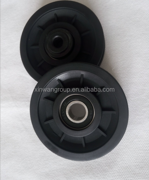 Home Gym Parts Plastic Gym Pulleys for Fitness Equipment Manufacturer