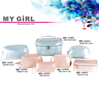 MY GIRL wholesale top quality Latest designer fashion cosmetic bags cases