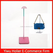 Luxury pink bag display stand