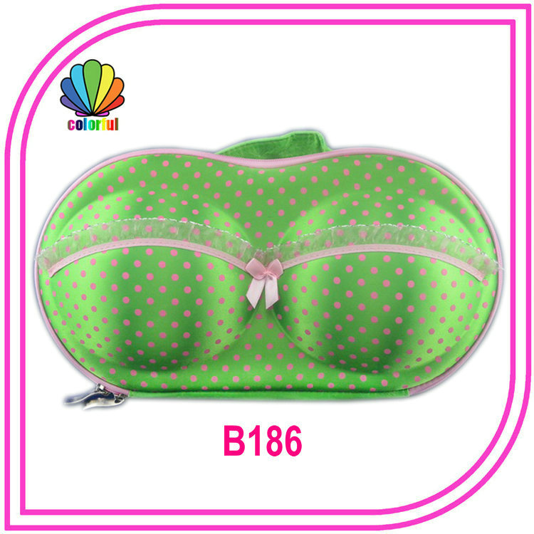 Factory wholesale quality EVA bra case in good price bra bag in other special purpose bags and cases