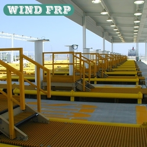 FRP Grating Walkway,fiberglass grating for walkway,FRP molded grating