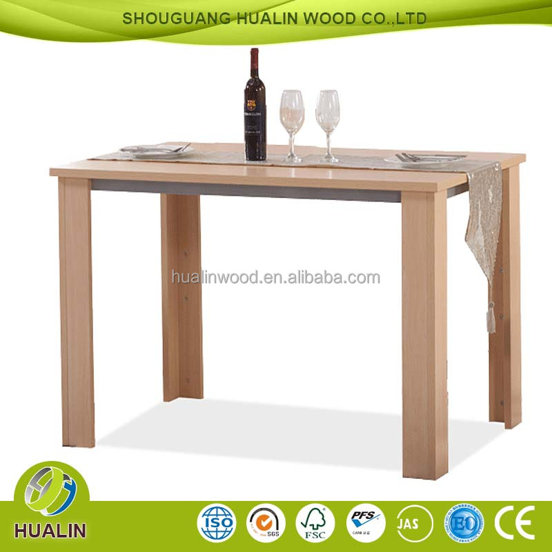 New model home furniture wooden dining table design