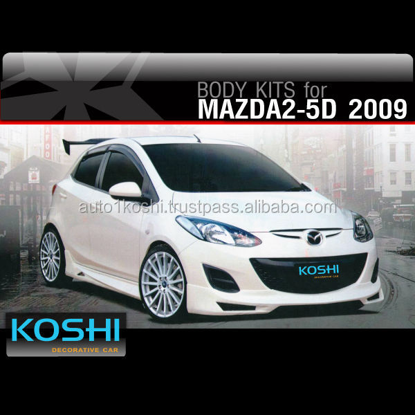 KOSHI Sport Body kit for MAZDA2 Sports 5 Doors 2009