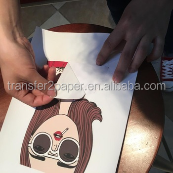 Dark T-shirt Transfer paper Inkjet heat transfer paper A4 A3 cotton transfer paper