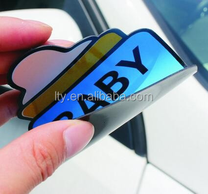 High reflective student driver magnet, new car magnet