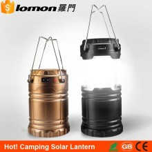 Top Selling Wholesale Portable AAA Battery Usb Power Bank Rrchargeable Camping Solar Lantern
