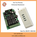 Hot New 12-35V4 Channel Wireless Remote Control Receiver Momentary Switch