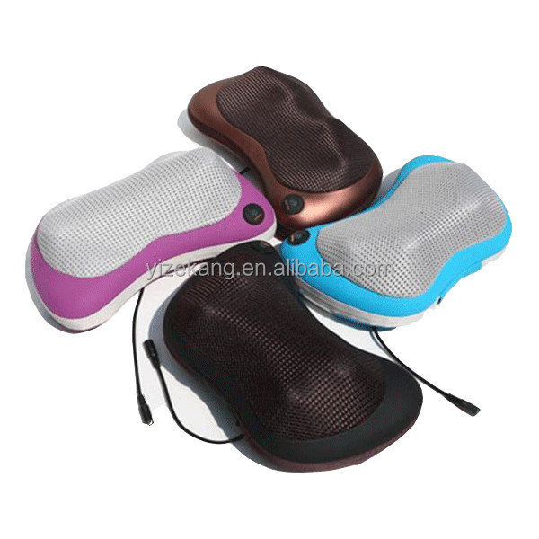 Kneading Neck Back Pillow Massager,Shiatsu Neck Massager Back Pillow for Back Pain Relief