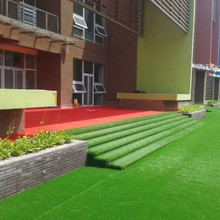 10000Dtex Decorative Turf Grass, Natural Landscape Artifiticial Grass