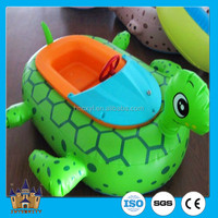 Kids inflatable motorized water toy Battery Bumper Boat