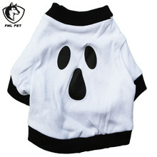 Wholesale Cheap Halloween Pet Supplies Ghost Face Pet Dog Clothes For Small Dogs