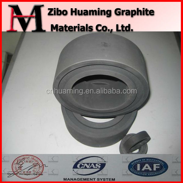 carbon graphite bearing resin impregnated material
