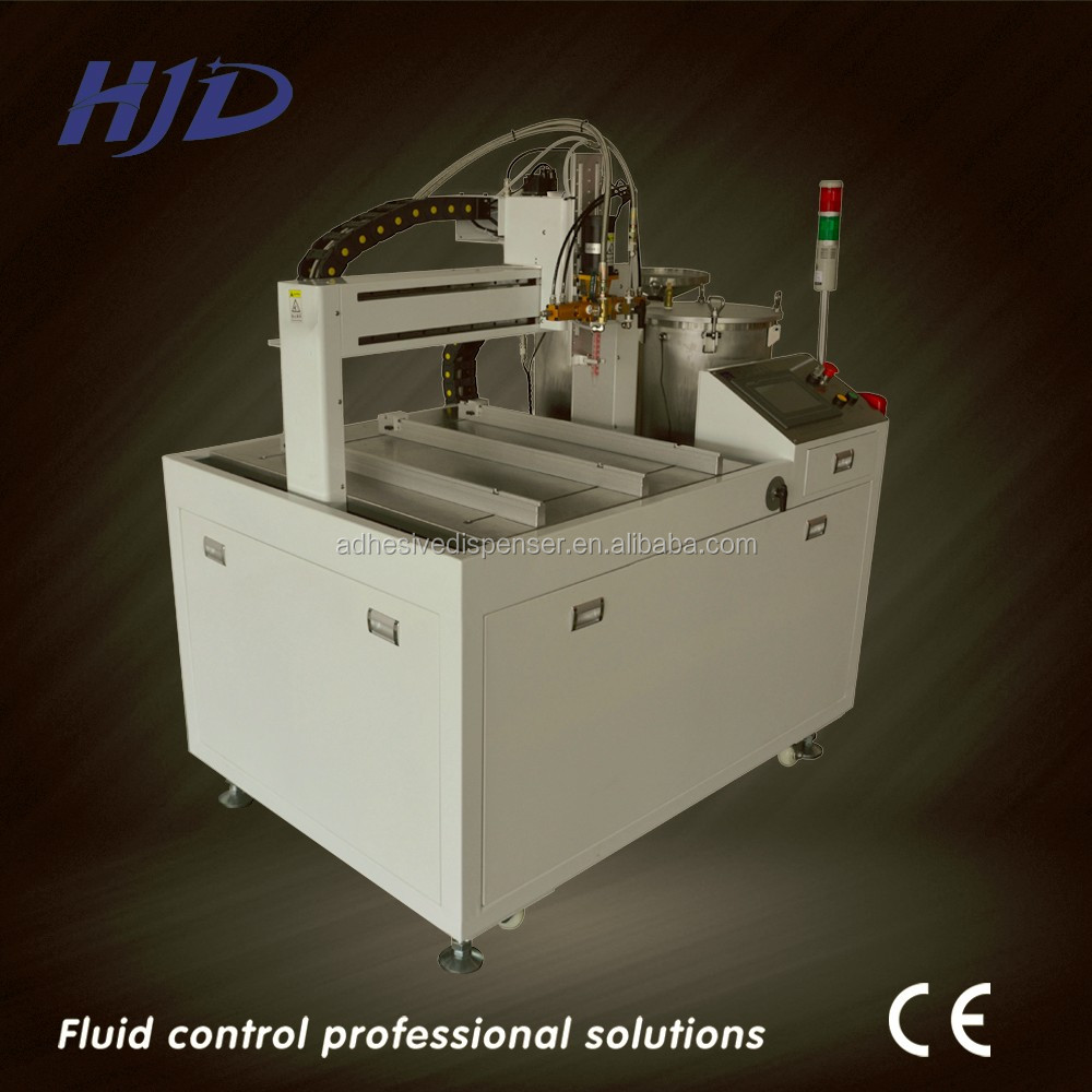 Automatic Epoxy adhesive AB glue metering and dispensing machine