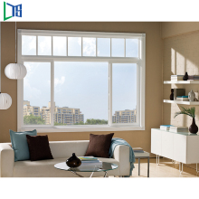 2017 model aluminum sliding windows with high quality
