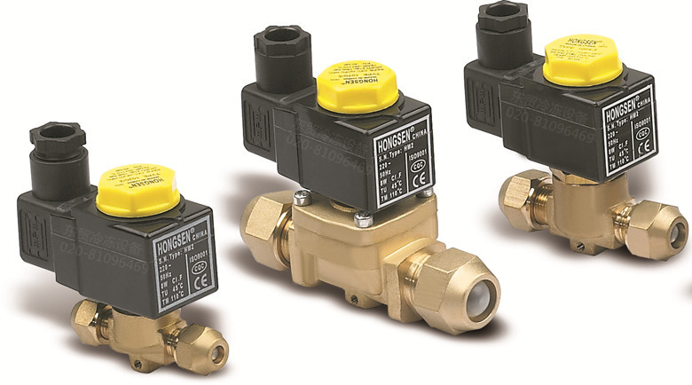 Air conditioning cold solenoid valve solenoid valve 1098-7 22.3MM models Castel duly Refrigeration Accessories