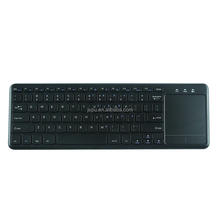 Best price Wireless 2.4G Touch Keyboard USB TouchPad Media Keyboard