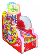 funny monkey kids ball throw family fun games kids redemption simulator lottery machines for sell