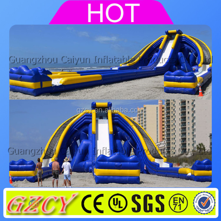 Giant hippo inflatable water slide/inflatable monster for sale
