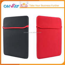 Customized 14 inch universal neoprene laptop sleeve without zipper
