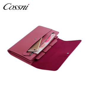 Genuine leather passport holder wallet leather women travel wallet clutch large capacity travel clutch purse for women