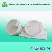 Wholesale production of anti-static polyester filter bags, PTFE membrane covering,