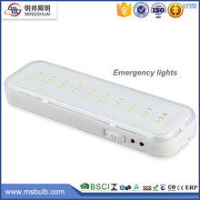 ABS Material Li-ion Battery 2w long working hours battery pack led emergency 220v rechargeable emergency led lamp
