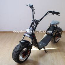 2017 newest design yongkang factory citycoco 1200w electric scooter evo 800w with removable lithium battery