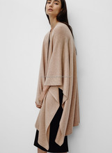 wide shawls style fashion cashmere ponchos for women