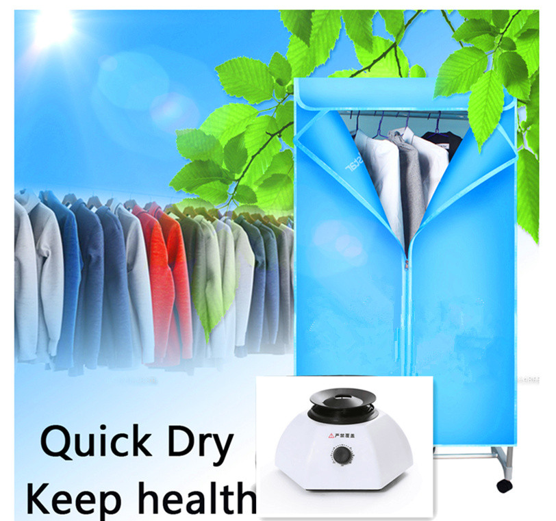 PET hot air heater warmer electric fast remote control travel portable clothes dryer