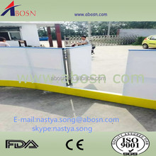 Inline hockey / floor hockey / futsal barrier dasher board