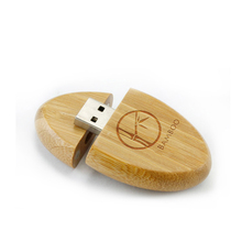 Bulk Cheap Wooden USB Flash Drive Eco-friendly Pen Drive with Custom Logo