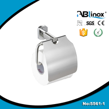 stainless modern recessed toilet paper cup holder with shelf