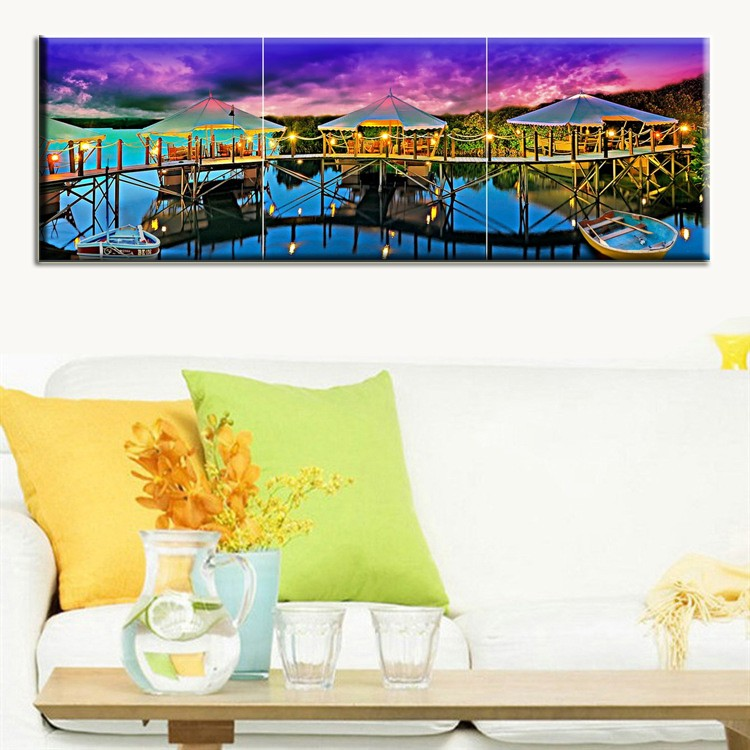 China factory price latest design abstract handmade group oil painting on canvas