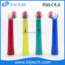High Quality Replaced Toothbrush Heads EB-17A 4 Colors Change Toothbrush Head