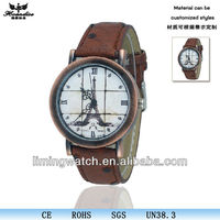 Printting dial orient wrist watch