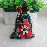 Small Custom Printed Drawstring Jewelry Pouches