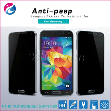 0.3MM 9H Anti-Spy Anti-Peep Dark 4 Way 360 Degree Premium Tempered Glass Privacy Screen Protector for samsung