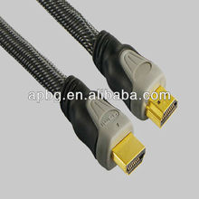 High quality HDMI Cable with Ethernet,1080P,3D,4K,2160P suitable for HDTV,XBOX,ps3,blu-ray
