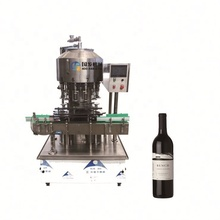 Well made pneumatic glass bottle wine filling machine