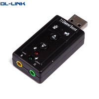 7.1 cheap usb 2.0 sound card for pc