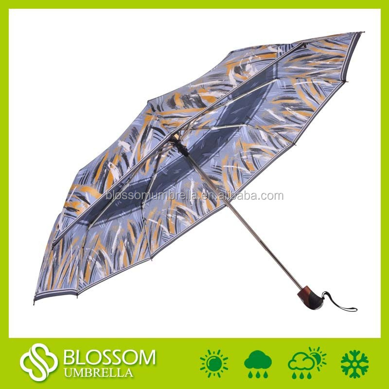 Auto open close high quality old fashioned umbrella