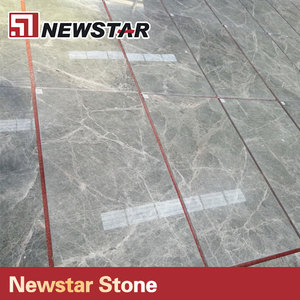 Newstar Low Price Silver Gray Grey Marble Tile Floor Design Picture