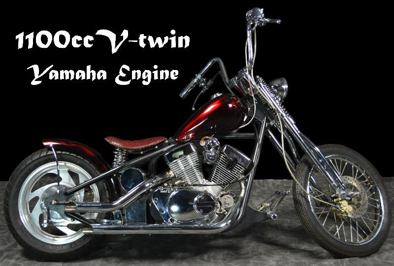 ACZ1100 V-twin moto Chopper