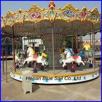 24 Seats Newest and Luxury Design Kids Carousel Rides for Sale Kiddy Carrousel