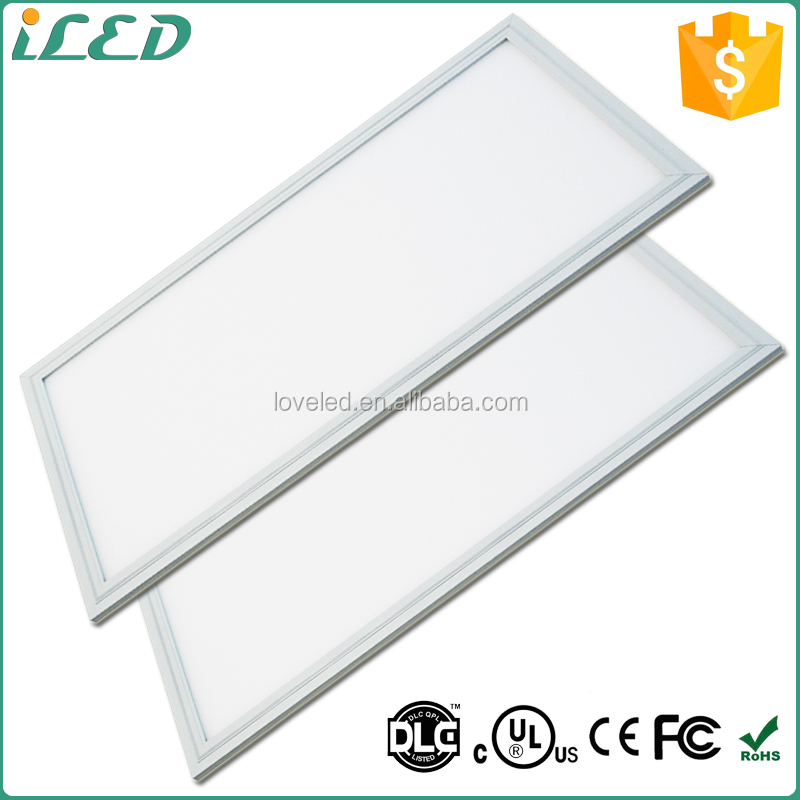 china ul dlc indoor 600x1200 led ceiling panel light 50w 72w panel led