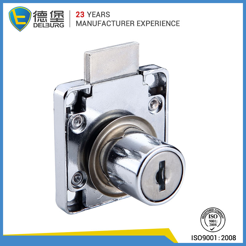 Desk drawer lock cylinder office cabinet lock cylinder